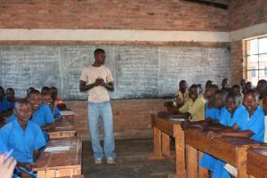 sm Ngenda schoolroom